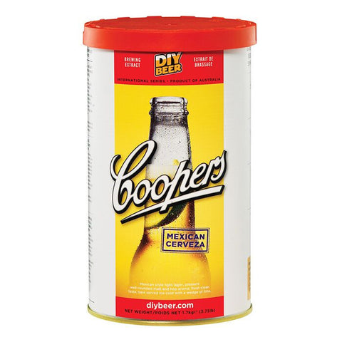 Coopers 1.7kg International - Mexican Cerveza