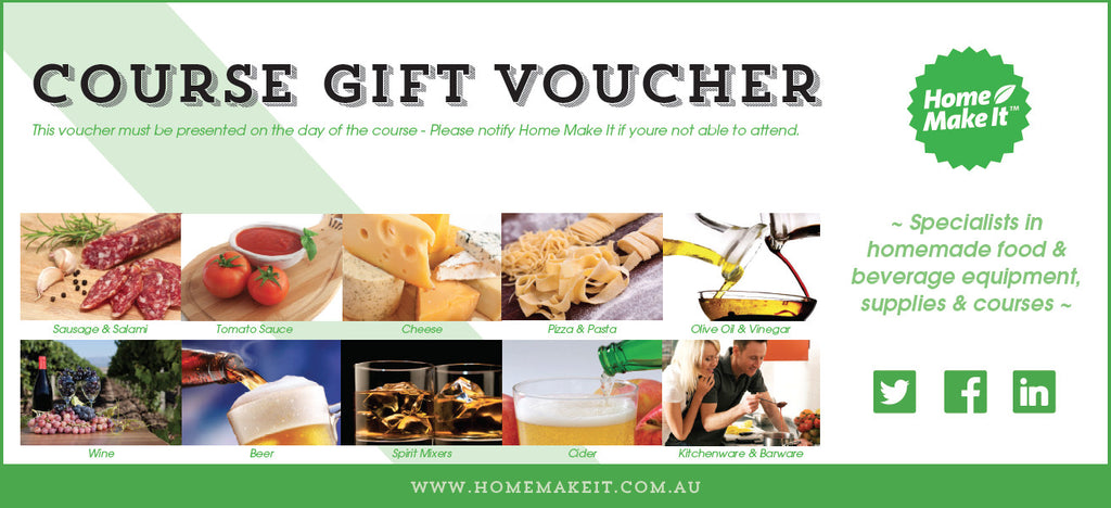 Home Make It Course Gift Voucher – Make Voucher