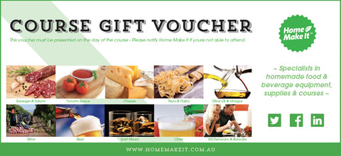 Home Make It Course Gift Voucher