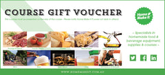 Course Gift Voucher - front