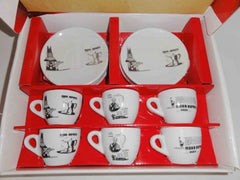 Espresso cups & saucer set of 6