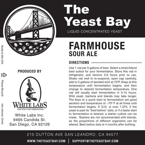 Yeast Bay - Farmhouse Sour