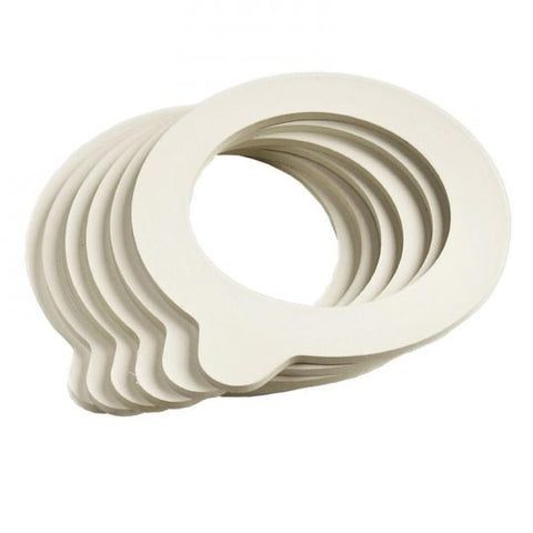 Fido Jars Spare part: Rubber Seal/Gasket Medium - 8cm PKT 6