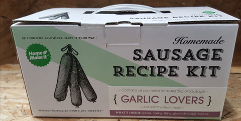 Homemade Sausage Recipe Kit - GARLIC LOVERS