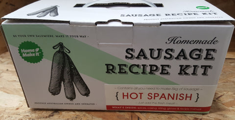 Homemade Sausage Recipe Kit - HOT SPANISH