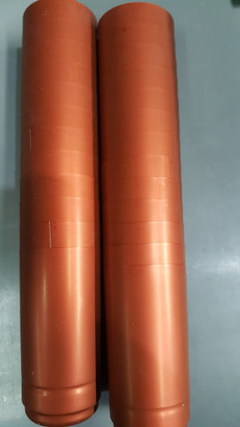 Capsule Bronze Metalic Pkt 25 PVC Heat shrink 30 x 60mm Heavy Gauge