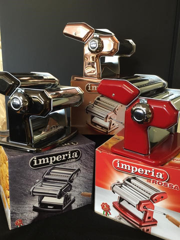 Imperia Pasta Machine Manual ( IRIDESCENT BLACK)