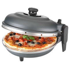 "Pizza Oven Electric ""NAPOLI"" Black 31cm Diam"