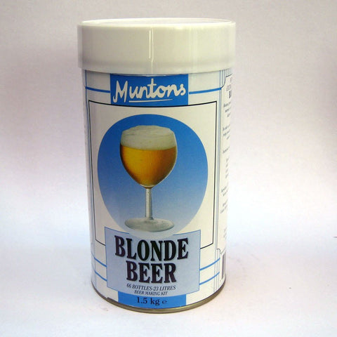 Muntons 1.5kg  Blonde Made in England