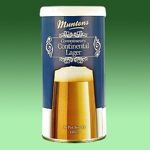 Muntons 1.8kg Connoisseurs Continental Lager Made In England