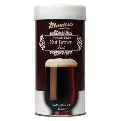Muntons 1.8kg Connoisseurs Nut Brown Ale Made In England