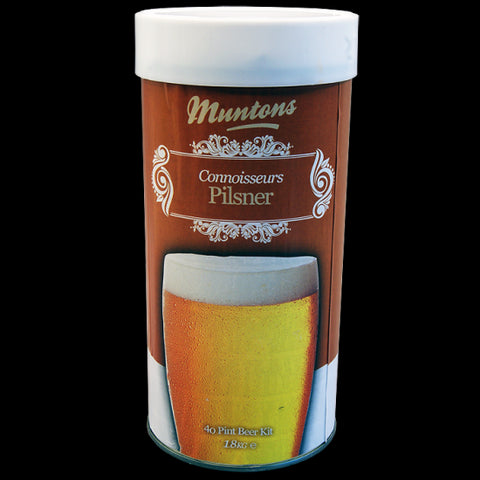 Muntons 1.8kg Connoisseurs Pilsner Made in England