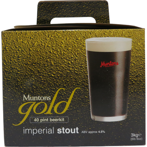 Muntons Gold Imperial Stout- Made In England