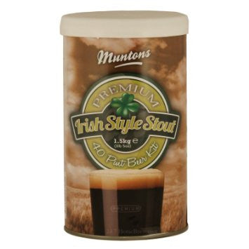 Muntons 1.5kg Premium Irish Style Stout Made In England