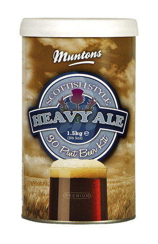 Muntons 1.5kg Scottish Heavy Ale- Made In England