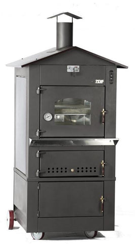 PEVA Wood Fire Oven S25 2 level firebrick 62 X 80cm