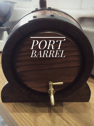 Barrel - 5Lt Wood Port Barrel