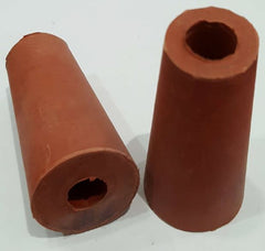 Bung Rubber 17mm Diam Bored
