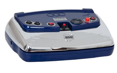 SICO - Single Sealing Vacuum Machine S250 PLUS - BLUE/CHROME