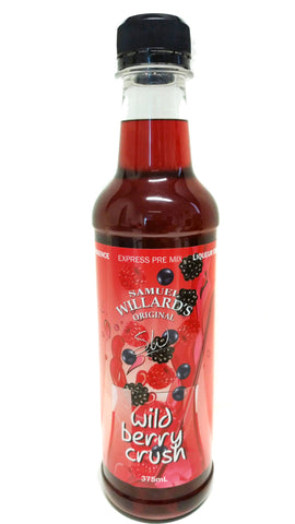 Samuel Willards Express Premix Liqueurs 375ml Wild Berry Crush