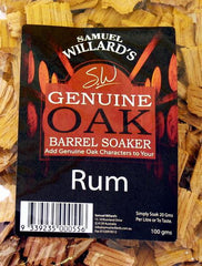 Samuel Willards Rum Soakers 100gm