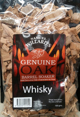 Samuel Willards Whisky Soakers 100gm