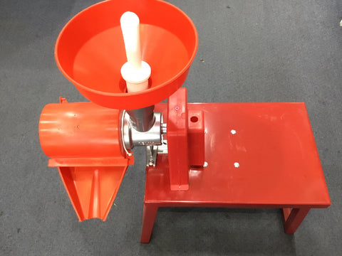 Tomato Machine Electric 0.5hp Motor with Bench