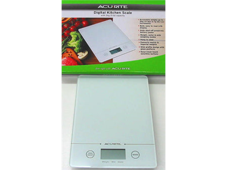 D.Line Slim Line Electronic Scale White