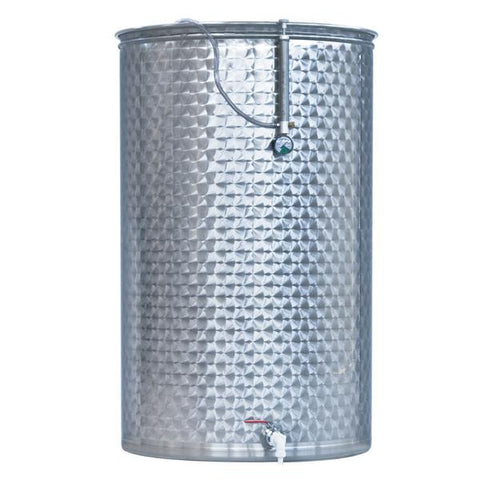 600 Litre Wine Tank - LAINOX: Full V/C Lid Kit
