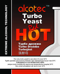 Alcotec Turbo Yeast Red Hot