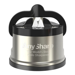 Any Sharp Pro Metal Knife Sharpener - Grey/Black