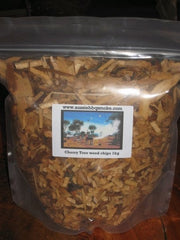 Cherry smoking chips - 1kg