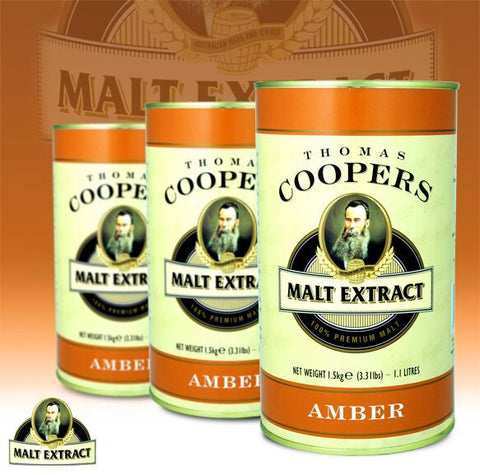 Thomas Coopers 1.5kg Amber Malt Extract
