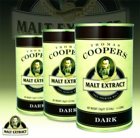 Thomas Coopers 1.5kg Dark Malt Extract