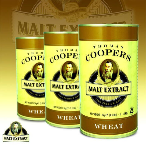 Thomas Coopers 1.5kg Wheat Malt Extract