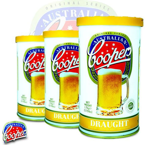 Coopers 1.7kg Original Series - Draught