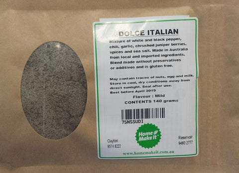 DOLCE ITALIAN - Spice Recipe Pack