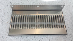 Drip Tray Stainless Steel High Splash Back