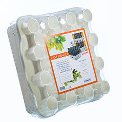 Easy Drainer - 1 Tray 1 Rack 25/16 Bottles stackable up to 7 Layers