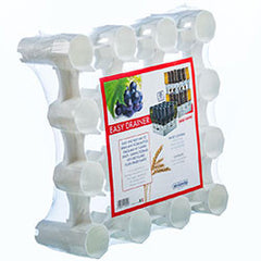 Easy Drainer - 1 Rack 25/16 Bottles stackable up to 7 Layers