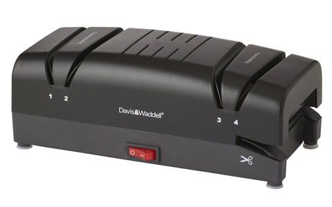 Davis & Waddell Electric Knife Sharpener - Black