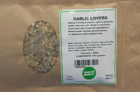 GARLIC LOVERS - Spice Recipe Pack