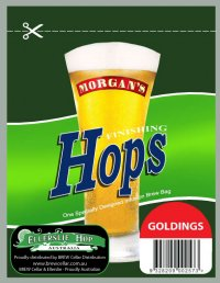 Morgans Finishing Hops - Goldings 12gm Sachet