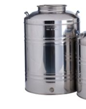 100 Lt Olive Oil Tank Stainless Steel