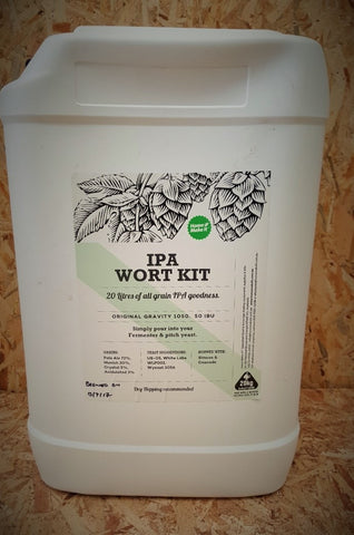 Home Make It Fresh Wort Kit - IPA 20 Litres