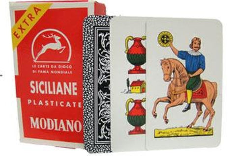 Italian Playing Cards Siciliane