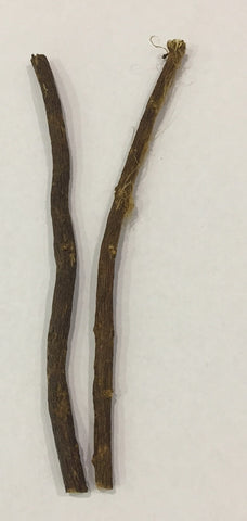 Liquorice Root Stick: 6 - 8mm
