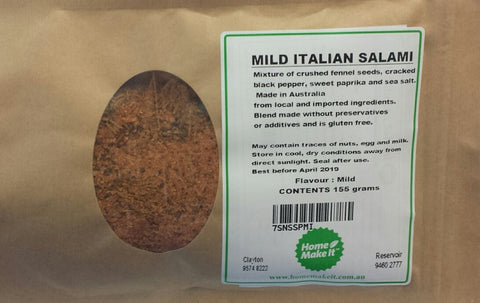 Mild Italian - Spice Recipe Pack
