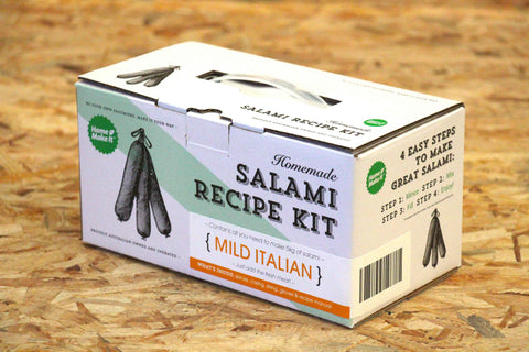 Homemade Salami Recipe Kit - MILD ITALIAN