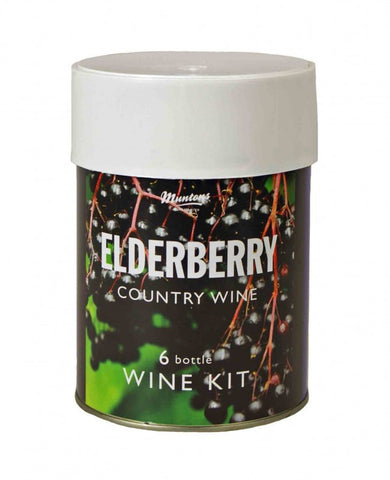 Muntons Elderberry Country Wine 900gr